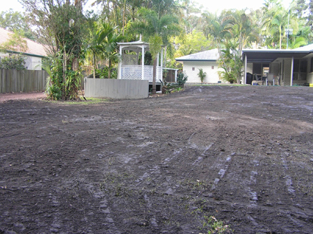 Acreage Before Hydromulch